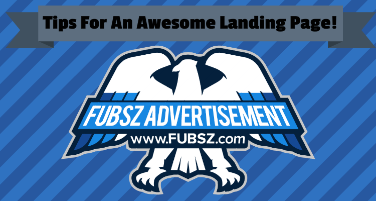 Tips for an awesome landing page